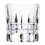 ロックグラス ウィスキー グラス おしゃれ ダ・ヴィンチクリスタル CARRARA カラーラ オールドファッション ダビンチ ギフトボックス付画像