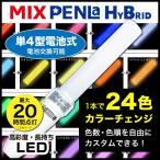 ペンライト LED コンサート 24色カラーチェンジ サイリウム
