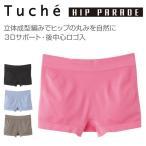 GUNZE グンゼ Tuche トゥシェ HIP PARADE for LADIES' [3Dなヒップ]レギュラーショーツ (M・Lサイズ) TV2962R
