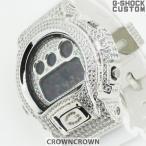G-SHOCK ジーショック カスタム メンズ 腕時計DW-6900 DW6900-NB7 カスタムベゼル おしゃれ 芸能人 人気 メンズ ファッション CROWNCROWN DW6900-001