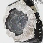 ショッピングShock G-SHOCK ジーショック カスタム メンズ 腕時計 GA-100 GA100-1A1 カスタムベゼル おしゃれ 芸能人 スカル ドクロ メンズ ファッション CROWNCROWNGA100-006
