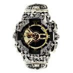 G-SHOCK ジーショック カスタム メンズ 腕時計 GA-110 GA110 GB-1 カスタムベゼル おしゃれ 芸能人 十字架 クロス メンズ ファッション CROWNCROWN GA110-020