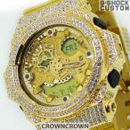 ショッピングShock G-SHOCK ジーショック カスタム メンズ 腕時計 GA-300 GA300-GD9A カスタムベゼル ゴールド ブランド保証付 人気 メンズ ファッション CROWNCROWN GA300-003
