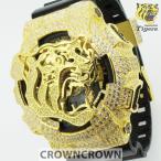 阪神タイガース 公式  限定 ウォッチ グッズ 腕時計 クラウンクラウン ジーショック カスタム GA-110 CROWNCROWN HANSHIN-001