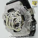 阪神タイガース 公式  限定 ウォッチ グッズ 腕時計 クラウンクラウン ジーショック カスタム GA-110 CROWNCROWN HANSHIN-002