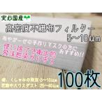 使い捨て 飛沫感染防止 高性能フィルター 100枚分 マスク