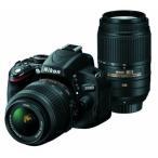 中古 Nikon D5100 Wズームキット 18-55 55-300 VR