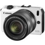 ショッピングEOS 中古 1年保証 美品 Canon EOS M EF-M 18-55mm IS STM ホワイト