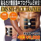 EMSシックスパックトレーナー「替えパット4枚」バリューパッケージ(6PACK,EMSトレーニング,微弱電流腹筋,ダイエット,ウエスト,刺激)