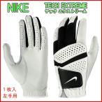 メンズ テック エクストリーム 6 左手用 ゴルフグローブ サイズ M カラー パールホワイト ブラック  GF1003-284