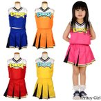 子供服 キッズ どきどきチアガール カラー5色 110〜130サイズ 1点までゆうメール対象