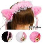 ショッピングカチューシャ 猫耳カチューシャ ヘッドドレス カラー3色 2点までゆうメール対象