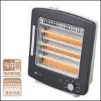 ユーイング 電気ストーブ 3灯石英管ヒーター 900W US-QS900J-K