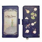 Le Petit Prince 星の王子さま ユニバーサルフリップカバーM ネイビー 10890『携帯 アクセサリー 児童文学 カバー グッズ 雑貨』