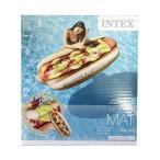INTEX うきわ (ホットドッグ) 13933 プールフロート かわいい 浮き輪 浮輪 大人用 大きい プール 海 インスタ映え [宅配便配送のみ]