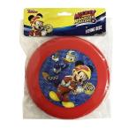 ミッキー ロードレーサー フライングディスク 14261 フリスビー レッド 赤 ドナルド 男の子 外遊び かっこいい おもちゃ メール便可
