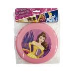 ディズニープリンセス ベル フライングディスク 14263 フリスビー ピンク 幼稚園 保育園 女の子 外遊び かわいい おもちゃ 美女と野獣 メール便可