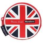 Bandiera(バンディエラ) カラビナ付きコインケース UK8423【イギリス ユニオンジャック 国旗 地図 雑貨 グッズ】