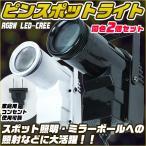 ピンスポットライトRGBW LED-CREE 同色2個セット ブラック ホワイト