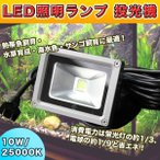 LED照明ランプ 投光器 10W 25000K 水草・熱帯魚・海水魚飼育 水槽用 パワーLEDライト ・ パワーLEDランプ
