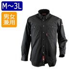 カジメイク ボタンダウンシャツ ブラック(91) 6722 M