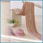 ストリング のれん 暖簾 パープル ベージュ ピンク のれん おしゃれ 北欧 節電 仕切り 涼しい 和風 日よけ おしゃれ 和室 洋室 AKB-162 東谷