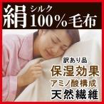 シルク100% シルク毛布 送料無料 シングル ブランケット 寝冷え防止 温感 暖かい 保温 冷え対策 寝具 ひざかけ オールシーズン 絹 シルク 毛布