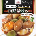 介護食 エバースマイル ムース食 肉野菜炒め 10個セット ES-M-18 常温保存 レトルト おかず 中華 大和製罐