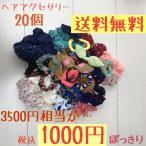 ショッピングシュシュ ヘアアクセサリー ヘアゴム ヘアピン シュシュ 可愛い 福袋 セット 1000円