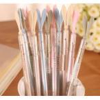 かわいいボールペン 可愛い文房具 シリコン 筆記用具 イヤホンジャック 雑貨 ピンク グリーン ブルー イエロー ギフト プレゼント