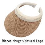 ショッピングヘレンカミンスキー Bianca サンバイザー Nougat / Natural Logo ヘレンカミンスキー HELEN KAMINSKI 紫外線対策 ゴルフ用にも