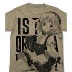 シャロ オールプリントTシャツ サンドカーキ-XL コスパ