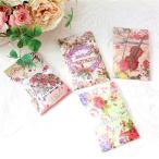 芳香剤 車 おしゃれ 部屋 サシェ袋 香袋 アロマ ローズの香り バラ 花柄 おしゃれ かわいい ローズ 薔薇雑貨