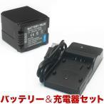 ショッピングビッツ Panasonic パナソニック ビデオカメラ用 VBG260互換バッテリー&充電器 残量表示可 (メール便不可)(送料無料)