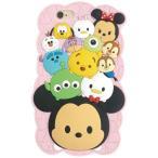 ショッピングビッツ ディズニー ツムツム iPhone6s / iPhone6 対応シリコンジャケット ピンク(メール便送料無料)