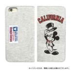 ショッピングビッツ ディズニー iPhone6s / iPhone6 対応スウェットフリップケース タキシードミッキー(メール便送料無料)