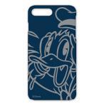 ショッピングビッツ iPhone 7 Plus 対応 ディズニーキャラクター ハードケース ドナルドダック(メール便送料無料)