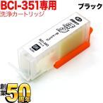 キヤノン BCI-350PGBK専用 プリンター目詰まり洗浄カートリッジ 顔料ブラック用 【メール便送料無料】