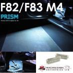 BMW M4 F82 F83 カーテシ フットライト 室内灯 ルームランプ レーシングダッシ製 純正LED交換タイプ 5605887W