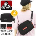 ショルダーバッグ BEN DAVIS ベンデイビス スクエア ショルダー バッグ サブバッグ フェス 横型 メンズ レディース 男女兼用 ブランド