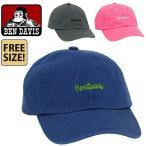 BEN DAVIS ベンデイビス 帽子 キャップ 送料無料 ローキャップ ベンデービス メンズ レディース フリーサイズ コットン BDW-9433A bendavis2-511