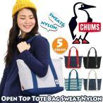 ショッピングショルダーバッグ ショルダーバッグ CHUMS チャムス Open Top Tote Bag Sweat Nylon オープントップ トートバッグ