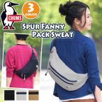 チャムス  Spur Fanny Pack Sweat CH60-2700-K001-00 Black