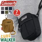 ショルダーバッグ Coleman コールマン WALKER ウォーカー CUBE キューブ ショルダー ポーチ メンズ レディース 男女兼用