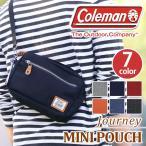 ショルダーバッグ コールマン Coleman ジャーニー ミニポーチ 2WAY ミニ ショルダー バッグ バッグインバッグ サブバッグ 正規品 レディース メンズ ブランド