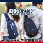 INDISPENSABLE インディスペンサブル ボディバッグ DAPPER ワンショルダー ボディーバッグ メンズ レディース 通勤 通学 17711000 indispensable-017