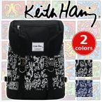 フラップリュック Keith Haring キースへリング 送料無料 リュックサック