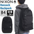 NIXON ニクソン 正規品 リュックサック リュック メンズ レディース 男女兼用 大容量 タブレットPC収納 A4