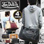 VonDutch ボンダッチ トートバッグ Von Dutch 2way ショルダーバッグ ヴェスパー 斜め掛け メンズ レディース 通学 通勤 VD103