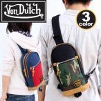 VonDutch ボンダッチ ボディバッグ Von Dutch 丈夫なナイロンシリーズ ボディーバッグ ワンショルダー メンズ レディース 通学 通勤 VD170